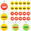 Vector clipart: Labels for design sales and promotions