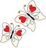 Векторный клипарт: Сердце бабочки