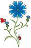 Vector clipart: Knapweed flower