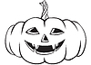 ID 3353433 | Funny Halloween Pumpkins | Stock Vector Graphics | CLIPARTO