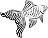 Vector clipart: Goldfish