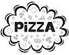 Vector clipart: Pizza logo