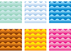Vector clipart: Multicolored waves