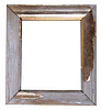 Old wooden frame | Stock Foto