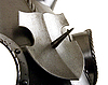 Medieval armour for head of horse | Stock Foto