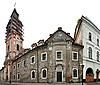 Starożytne domy w Kamieniec Podolskiego | Stock Foto