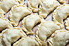 Ukrainian dumplings | Stock Foto