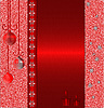 Photo 300 DPI: Red cristmas background