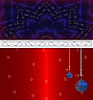 Photo 300 DPI: Red blue cristmas background