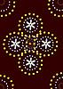 Gold wıth sılver pattern | Stock Illustration