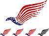 Vector clipart: American eagle symbol