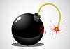 Vector clipart: bomb