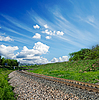 Kolej żelazna | Stock Foto