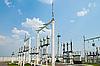 高压变电站 | 免版税照片