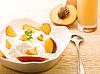 Photo 300 DPI: Breakfast in peach colors