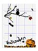 Векторный клипарт: Хэллоуин абстрактный вектор