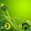 Векторный клипарт: абстрактный фон с кругами
