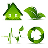 Векторный клипарт: элементов окружающей среды