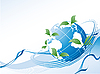Vector clipart: environmental background