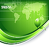 Векторный клипарт: экологические технологии мире