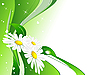 Векторный клипарт: абстрактный фон весны