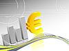 Vektor Cliparts: EUR Hintergrund