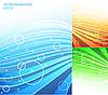 Векторный клипарт: фон в трех цветах