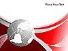 Векторный клипарт: фон с глобусом