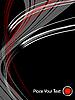 Векторный клипарт: абстрактные темные вектор