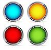 Векторный клипарт: кнопки
