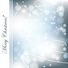 Векторный клипарт: яркая рождественская открытка