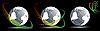 Векторный клипарт: Набор глобусы