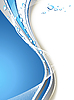 Vector clipart: water drop background