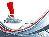 Vector clipart: concept backdrop