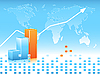 Vector clipart: statistic backdrop