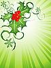 Vector clipart: christmas backdrop