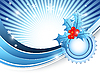 Векторный клипарт: яркие Рождество