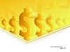 Vector clipart: dollar backdrop