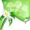 Vector clipart: fairy summer background