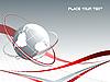 Векторный клипарт: линии с глобусом