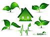 Vector clipart: environmental design elements