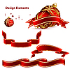 Vector clipart: Christmas elements