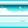 Векторный клипарт: цветочный шаблон