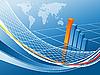 Векторный клипарт: график прибыли