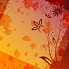 Vector clipart: autumn backdrop