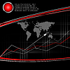 Vector clipart: modern statistic background