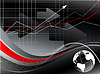Statistic backdrop | Stock Illustration