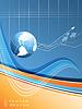 Векторный клипарт: фоне мировой статистики