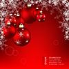 Векторный клипарт: Christmas фоне