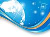 Векторный клипарт: Концепция цифровой вселенной